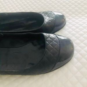 💯Authentic Chanel Quilted Flats Black